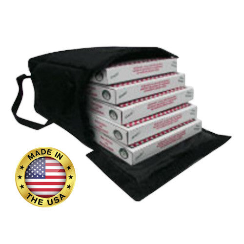 "TP518 - Premium Pizza Bag - Carries five 18"" or six or more 16"" (20""L x 20""W x 13""H)"