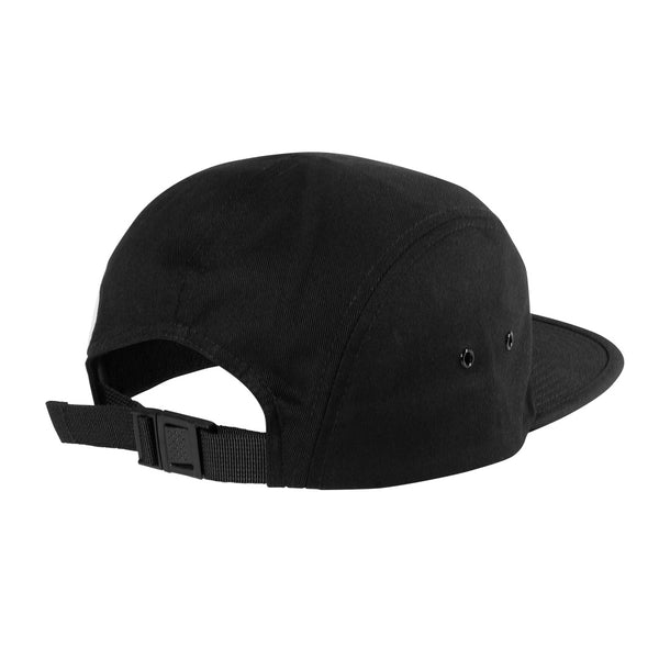 Script 5-Panel Hat with adjustable clasp