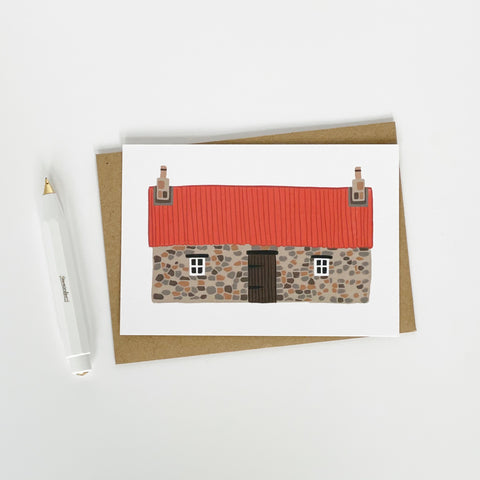 Scottish Bothy Blank Card