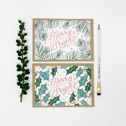 Merry & Bright Christmas Cards - Lomond Paper Co.
