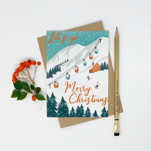Let's Go - Merry Christmas - Lomond Paper Co.
