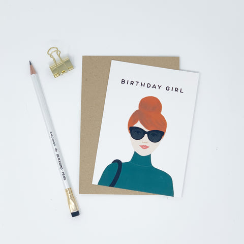 Birthday Girl - Red Hair - Lomond Paper Co.