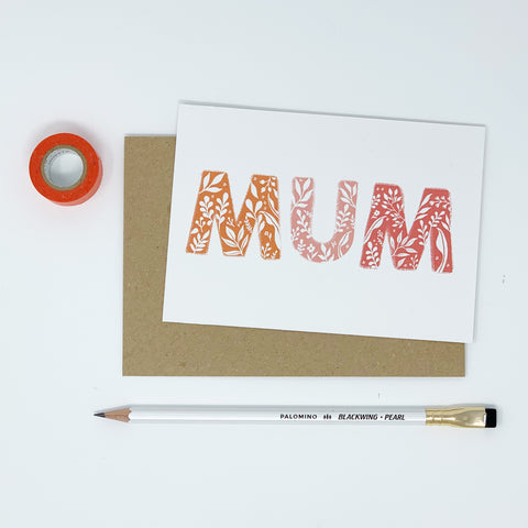 Mum Card - Lomond Paper Co.