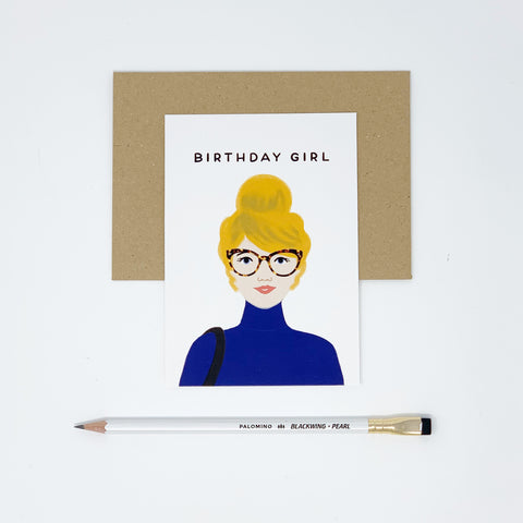 Birthday Girl - Blonde Hair - Lomond Paper Co.