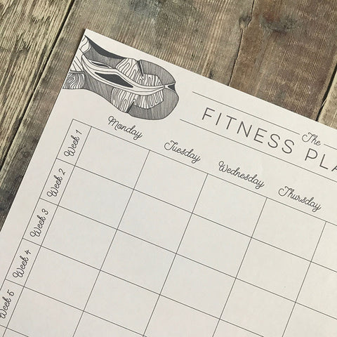 Lomond Paper Co. - Fitness Planner