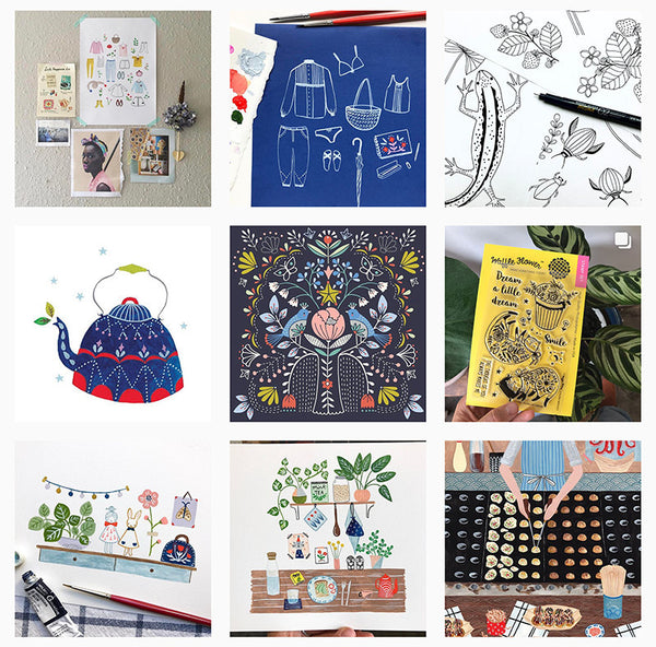 Lomond Paper Co. - Favourite 5 Illustrators on Instagram