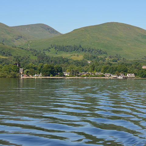 Luss Village from loch Lomond