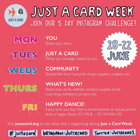 Just a Card Instagram Challenge