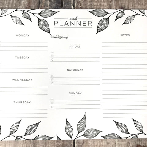 Lomond Paper Co. - Meal Planner