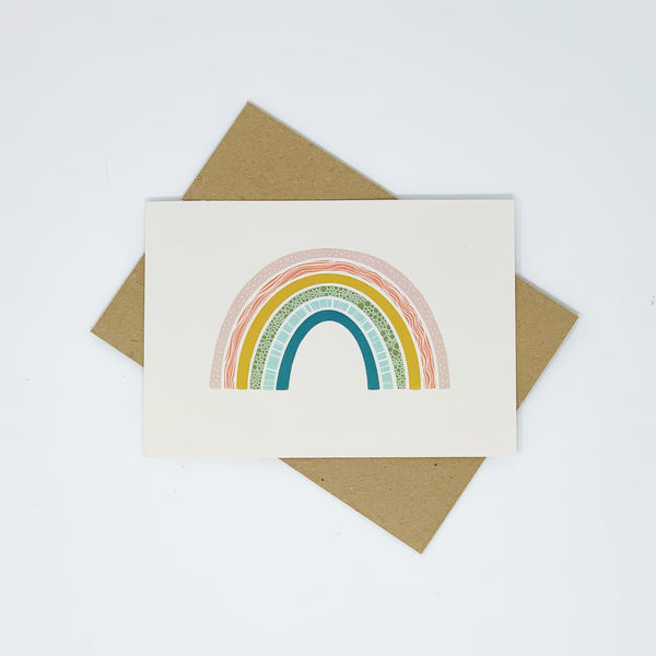 rainbow card - lomond paper co.