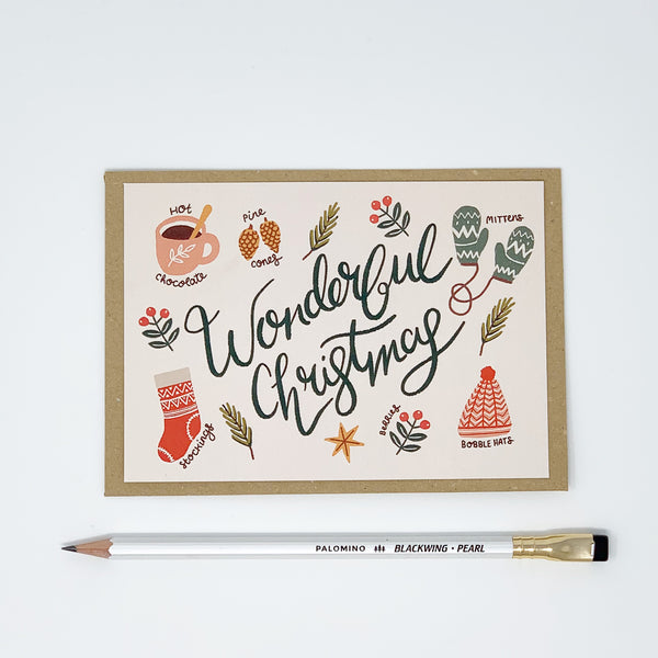 Wonderful & Fabulous Christmas - Pack of 8 Cards