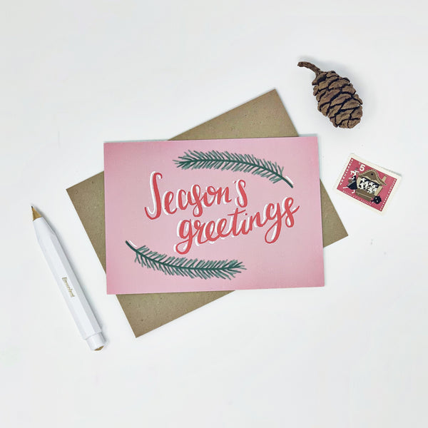 Seasons Greetings - Pack of 8 Cards