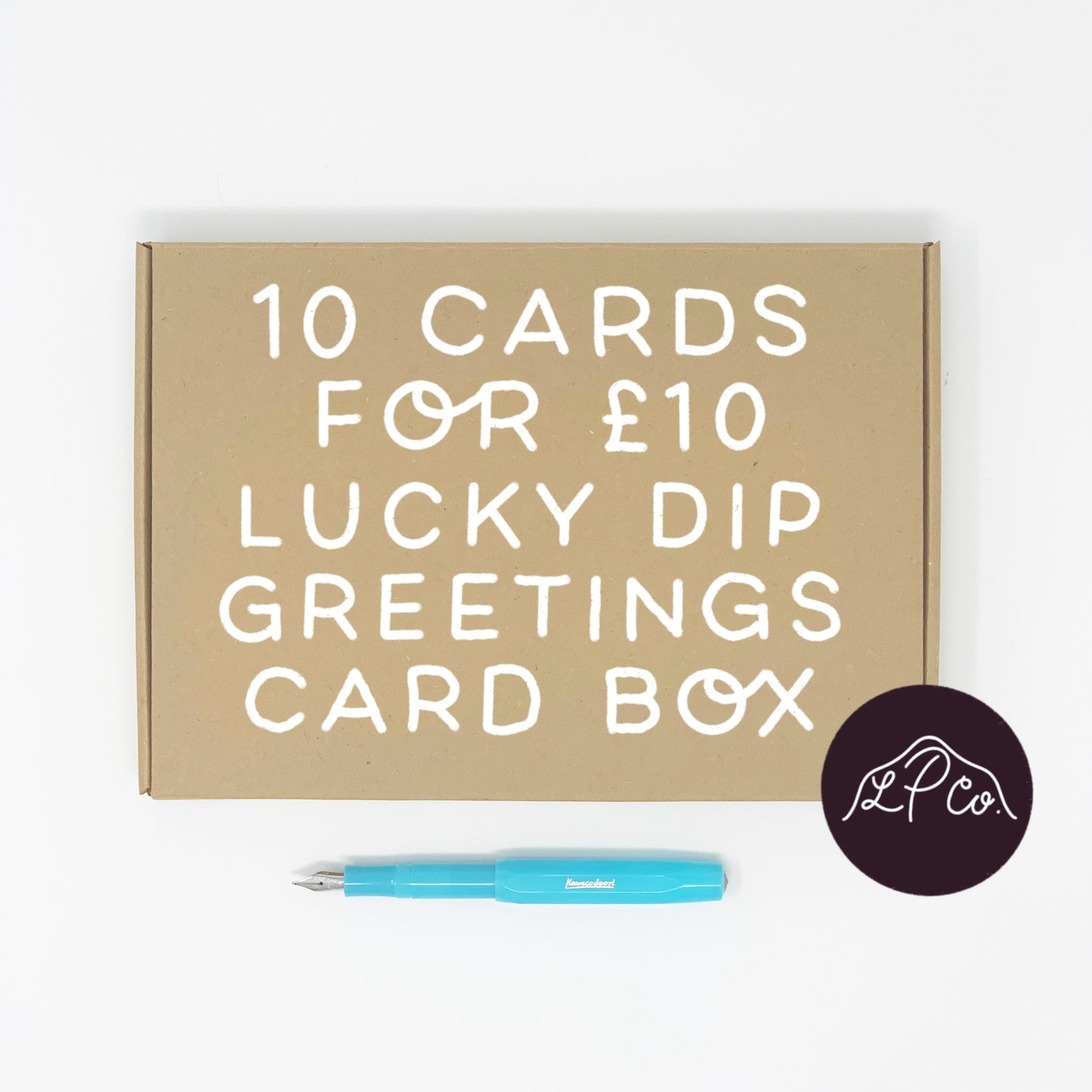 Lucky Dip Greetings Card Box
