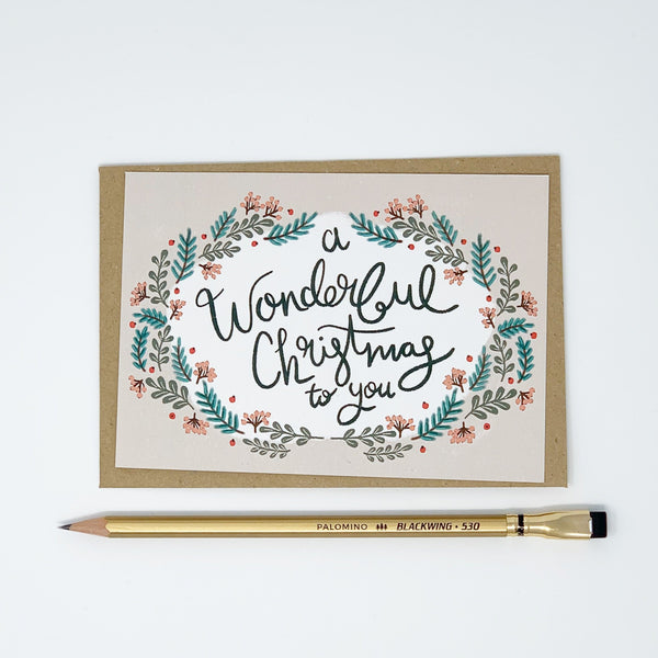 A Wonderful Christmas To You - Lomond Paper Co.
