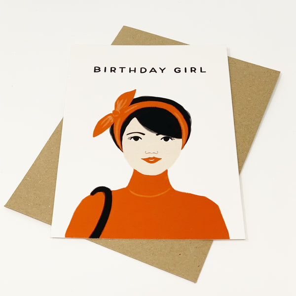 Birthday Girl - Black Hair - Lomond Paper Co.