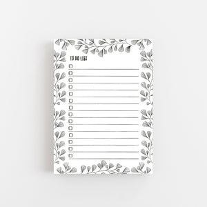 Leaf To Do List - Notepad