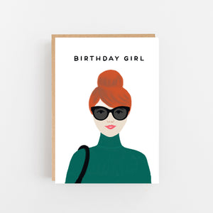 Birthday Girl - Red Hair