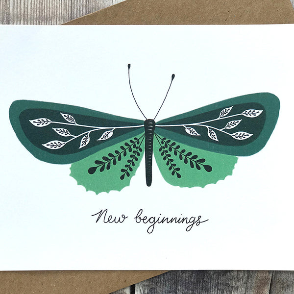 New Beginnings - Butterfly