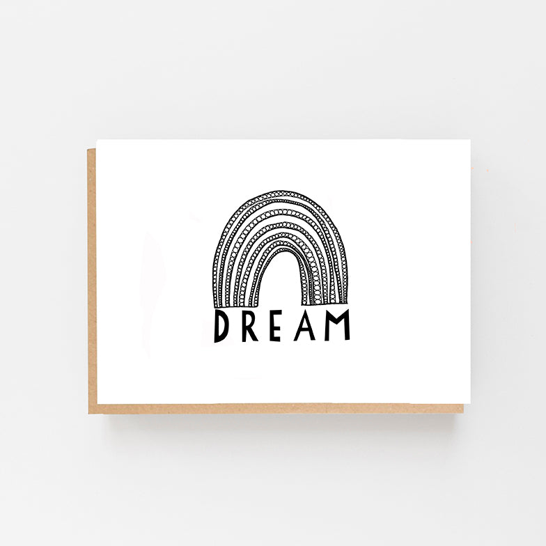 Dream - Rainbow Card