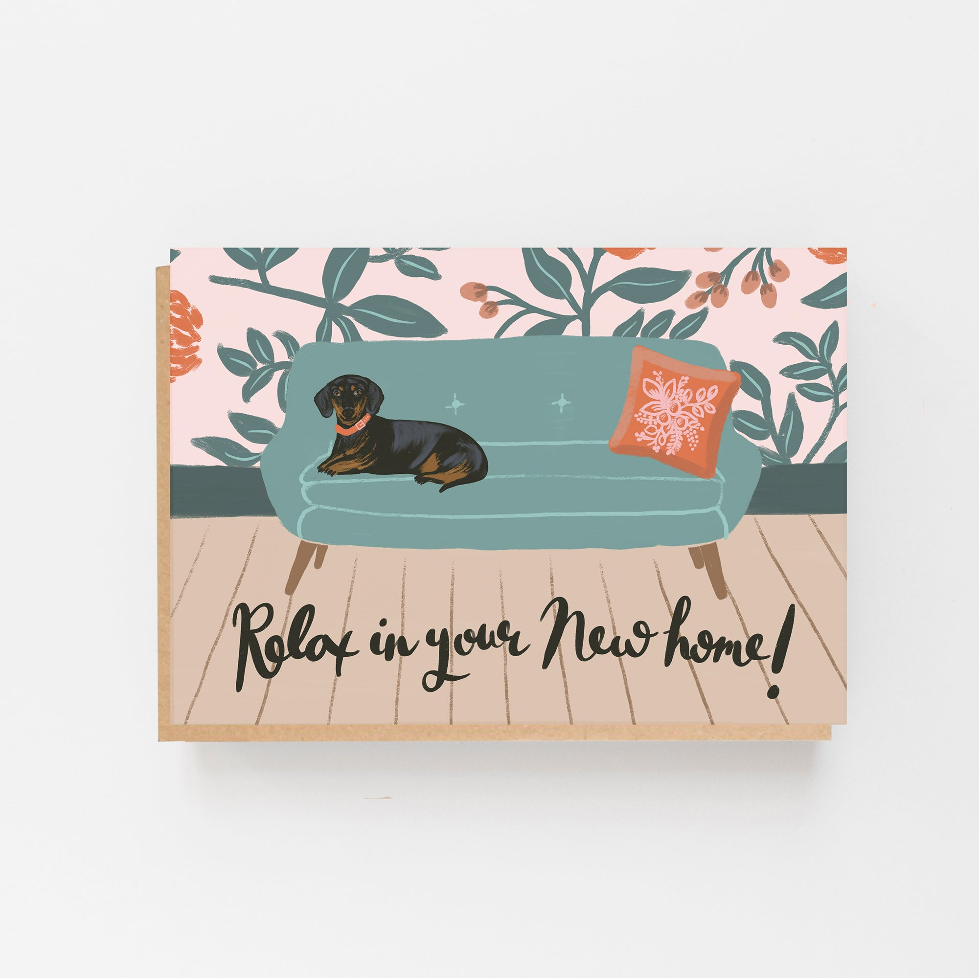 Relax in your New Home Card