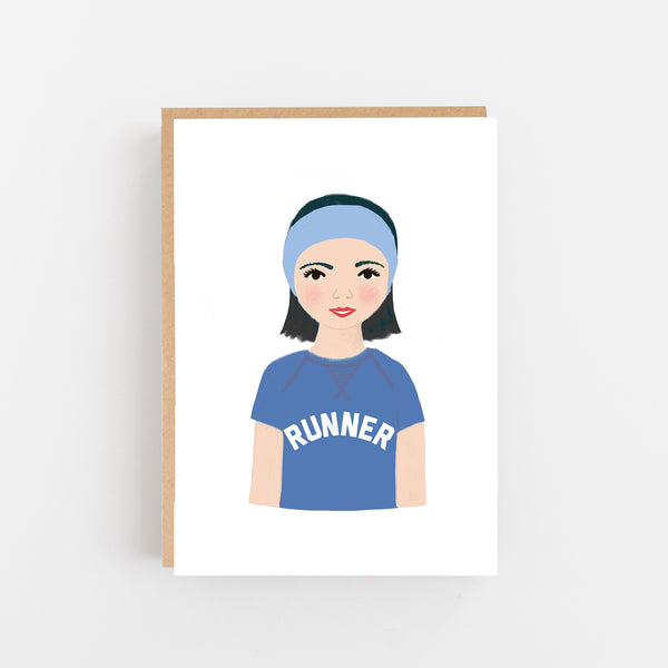 Runner card - Marathon Runner Card