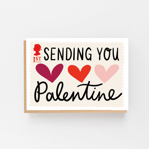 Sending You Love Palentine