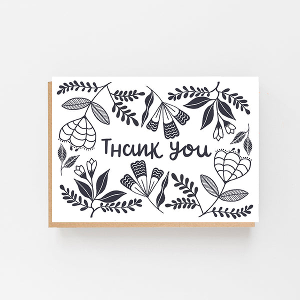 Thank You - Folk Design