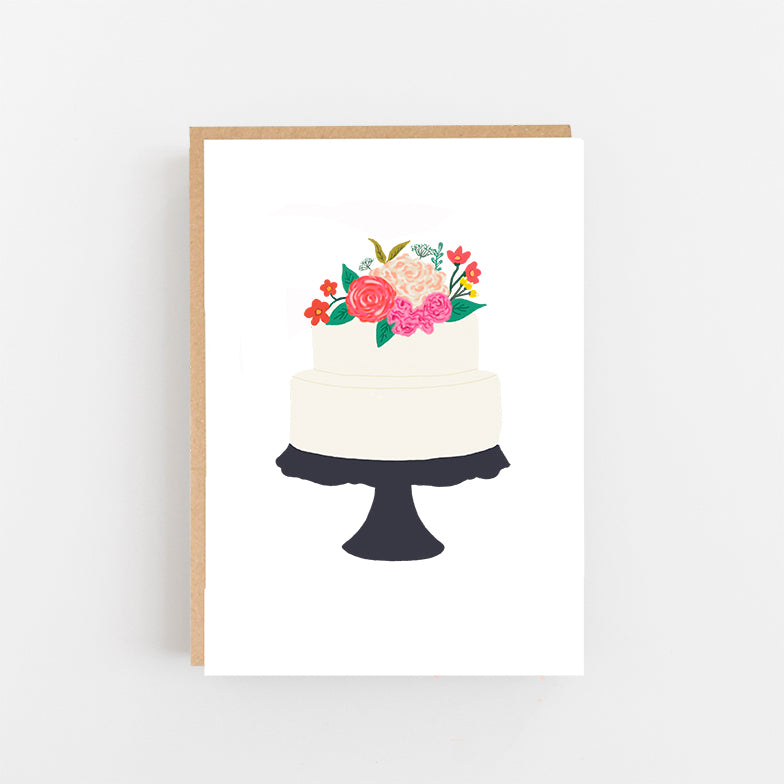 Wedding Cake Card