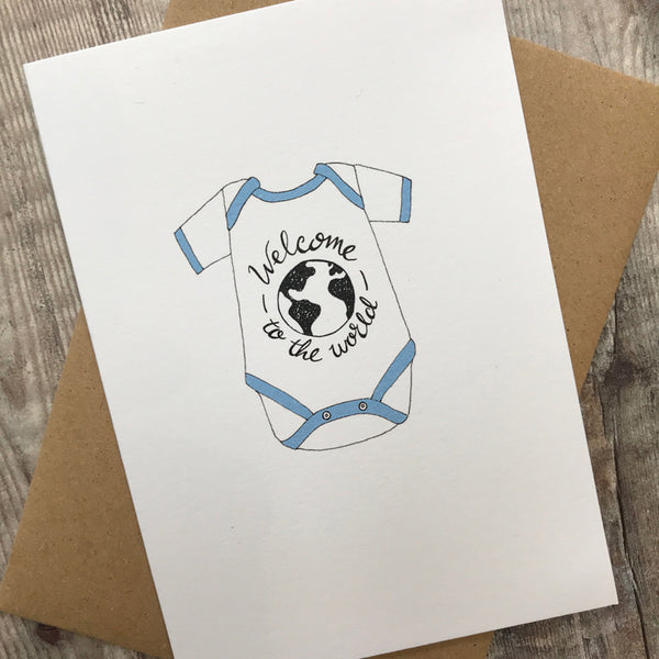 welcome to the world baby boy - lomond paper co.