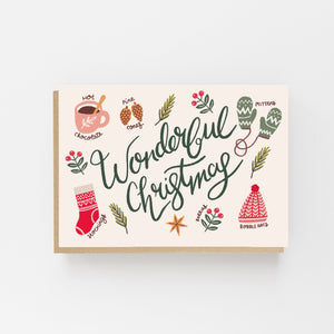Wonderful Christmas - Lomond Paper Co.