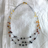 Teen Unique Baltic Amber Necklace - Ava - Baltic Amber Necklace