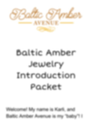 Baltic Amber Avenue Introduction - What is Baltic Amber? - Baltic Amber Necklace