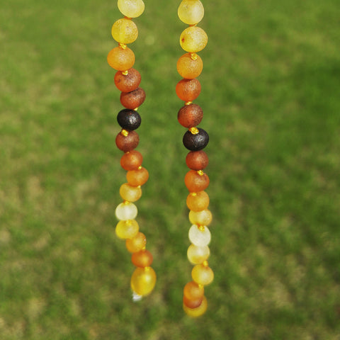 Children's Baltic Amber necklace - Reilly - Baltic Amber Necklace