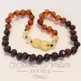 Children's Baltic Amber Necklace - Ombre - Baltic Amber Necklace
