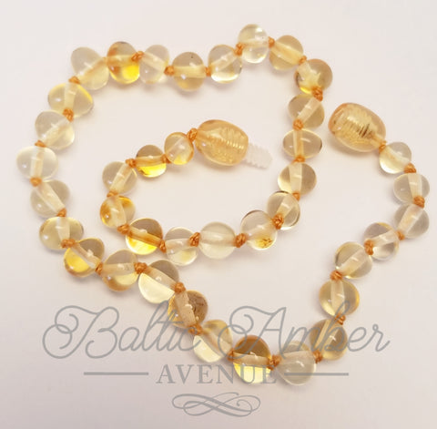 Children's Baltic Amber Necklace - Eira - Baltic Amber Necklace
