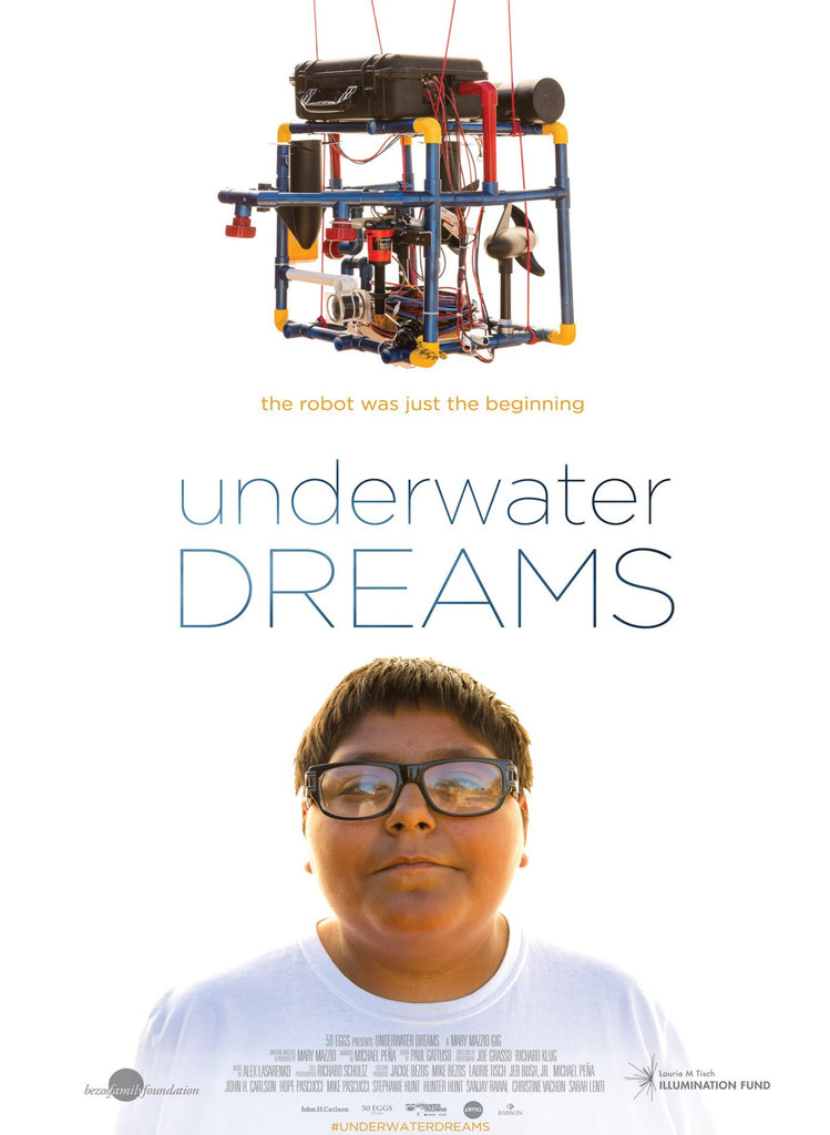 Underwater Dreams - Poster