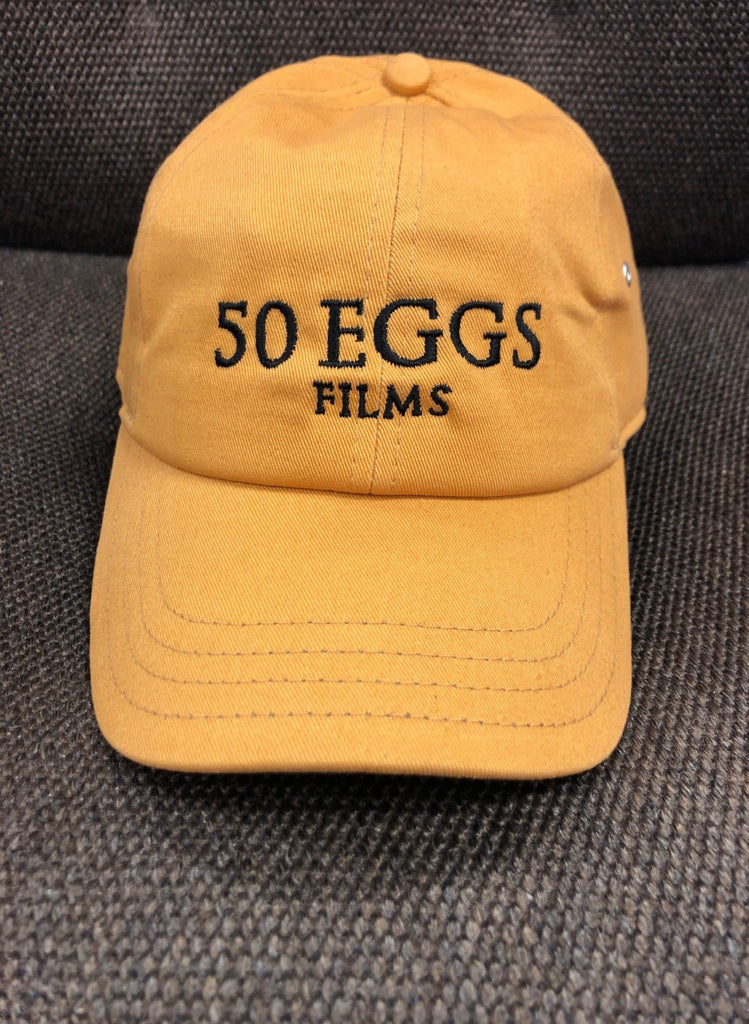 50 Eggs Films Hat (Mustard Yellow)