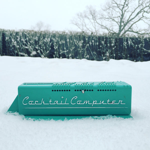 Cocktail Computer in the snow