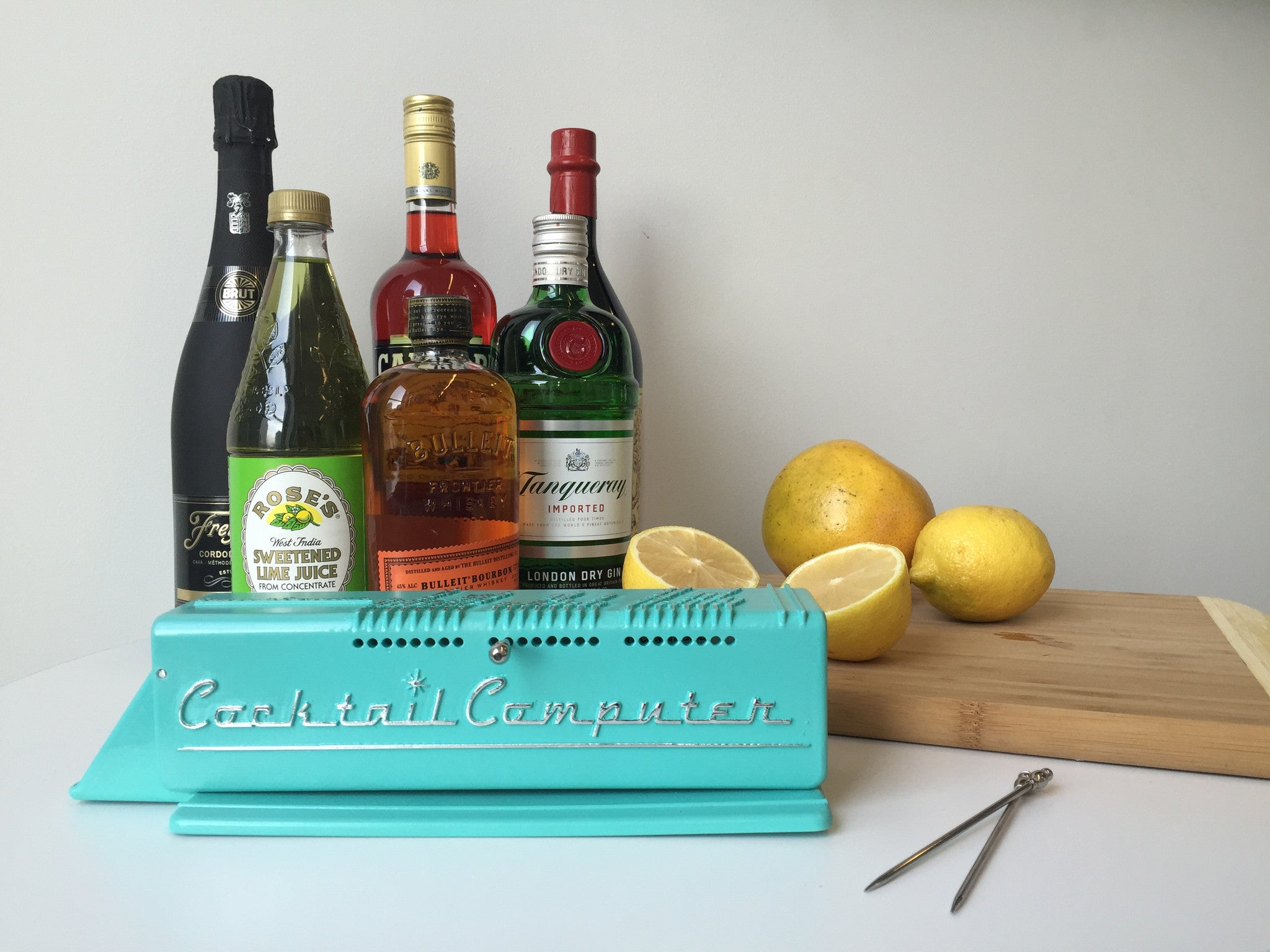 Cocktail Computer Kit with Liquor