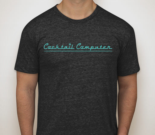 Cocktail Computer T-Shirt