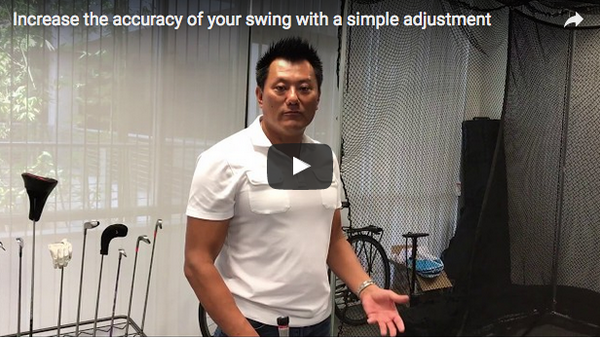 How to increase the accuracy of your swing with a simple adjustment