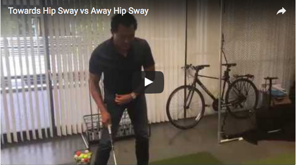 Towards Hip Sway vs Away Hip Sway