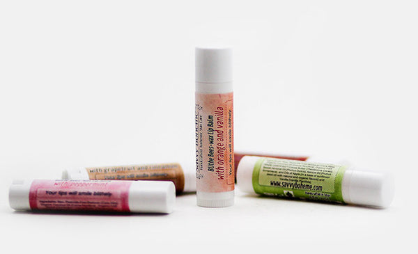 Orange and Vanilla--Blithe Bees-wax Lip Balm