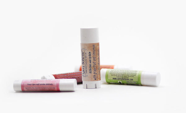 Grapefruit and Cinnamon-Blithe Bees-wax Lip Balm