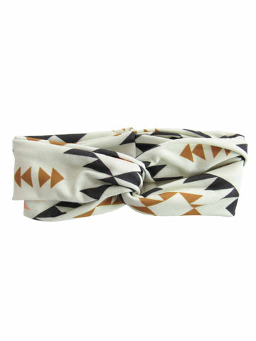 Triangle Aztec Tribal Knotted Headband