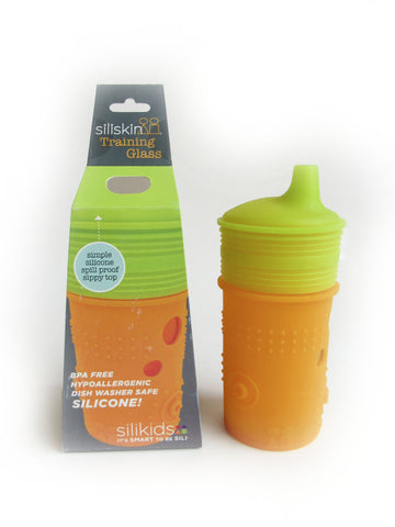 Glass Training Sippy Cup 8oz Tart