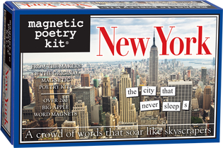 New York Magnetic Poetry Kit