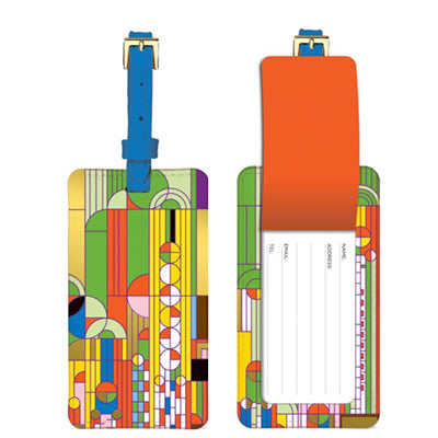 Frank Lloyd Wright Luggage Tag