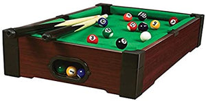 Tabletop Billiards Pool Table Game