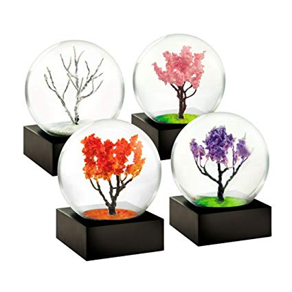 Mini Four Seasons Snow Globe Set